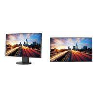 "NEC MultiSync EX241UN-BK-SV - LED monitor - 24"" (23.8"" viewable) - 1920 x 1080 Full HD (1080p) - AH-IPS - 250 cd/m� - 1000:1 - 6 ms - HDMI, DVI-D, VGA, DisplayPort - speakers - black"