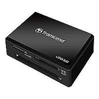 Transcend Multi-Card Reader RDF8 - Card reader ( MS, CF, SDHC, MS Micro, microSDHC, SDXC, SDHC UHS-I, SDXC UHS-I, MS XC ) - SuperSpeed USB 3.0