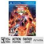 Capcom Ultimate Marvel Vs. Capcom 3 Fighting Video Game - PlayStation Vita, ESRB: T