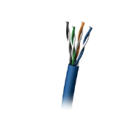 Cables To Go 32601 1000ft Cat6 550MHz Solid PVC Cable - Blue