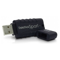 Centon Waterproof USB Flash Drive 2GB (Black) : DSW2GB-001 in retail packaging.