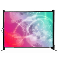 "Draper MicroScreen 230300 40"" Diagonal 4:3 Portable Projection Screen"