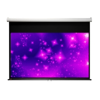 "Draper 207166 Luma 94"" Diagonal 16:10 Manual Projection Screen - White Case"