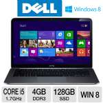 "Dell XPS 13 XPS13-1000sLV Ultrabook - 3rd generation Intel Core i5-3317U 1.7GHz, 4GB DDR3, 128GB SSD, 13.6"" Display, Windows 8 64-bit"