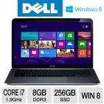 Dell XPS 13 XPS13-2501sLV Ultrabook - 3rd generation Intel Core i7-3517U 1.9GHz, 8GB DDR3, 256GB SSD, 13.6&quot; Display, Windows 8 64-bit
