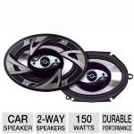 "Dual DS573 2-Way Triaxial Car Speaker - 150 Watt, 5"" x 7"" (Pair)"
