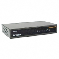D-Link - DES-108 - 8-Port 10/100 Desktop Network Switch