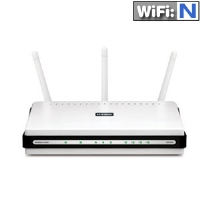 D-Link DIR-655 Xtreme Wireless Router - 300Mbps, 802.11n (Draft N), 4x Gigabit Ports