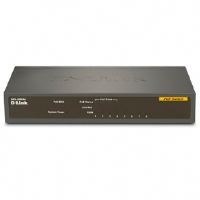 D-Link - DES-1008PA - 8-Port 10/100 PoE Unmanaged Network Switch