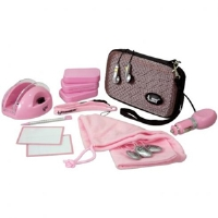 Dreamgear DGDSL907 17 in 1 Accessories Bundle Pack For DS Lite - Pink