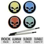 Dreamgear DGUN-099 Rock Pack Aluminum Drum Stix and Silencer Pads