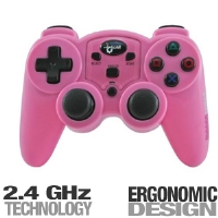 Dreamgear DGPN-558 PS2 Magna Force Controller - Pink