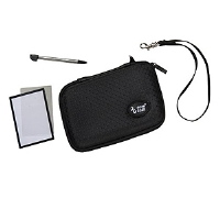Dreamgear DGDSL626 3 In 1 Bundle - Nintendo DS Lite, Protective Case, Stylus, Screen Protectors, Black