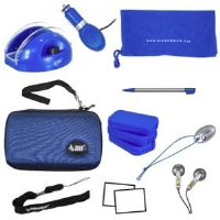 Dreamgear DGDSL-050 DS Lite 17-in-1 Bundle - Blue