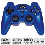 Dreamgear DGPS3-1384 PS3 Radium Wireless Controller - Blue