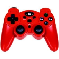 Dreamgear DGPS3-1385 PS3 Radium Wireless Controller - Red
