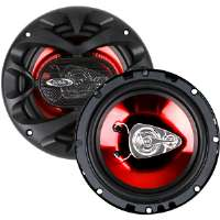 BOSS CH6530 CAR SPEAKER RED CHAOS EXXTREME 300 WAT