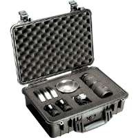 Pelican 1500 Case w/Foam - Black