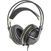 SteelSeries  Siberia V2 Full Size Gold and Black Plated Headset