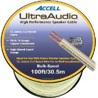 Accell  100' UltraAudio� Speaker Cable - 16-Gauge CL3