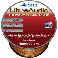 Accell  100' 12-Gauge UltraAudio Speaker Cable - Bulk Spool