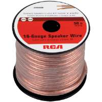 RCA  16-Gauge 50' Speaker Wire Spool