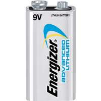 Energizer  9V Industrial Strength Lithium Battery Retail Pack