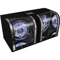 "DUAL 12"" BANDPASS SUBWOOFER WITH BOX"