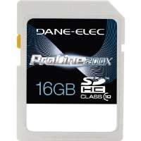 Dane-Elec  High-Speed 16GB Class 10 SDHC Card