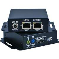 QVS  HDMI 1.3/HDCP Dual CAT5/6 Extender Kit with Bi-Directional IR Control