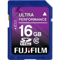 Fujifilm  16GB SDHC Class 10 Memory