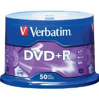 Verbatim  16x Write-Once DVD+R