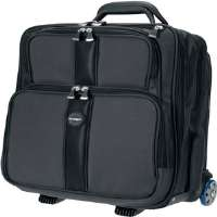 "Kensington 62903 17"" Contour� Ballistic Nylon Overnight Notebook Rolling Case"