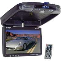 Pyle  9'' Flip-Down Roof Mount Monitor and DVD Player