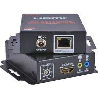 QVS  HDMI Audio/Video CAT5e Extender with Bi-Directional IR Control