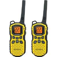 Motorola MS350R 22 Channel 35 Mile Two-Way Radios - Waterproof & Floats