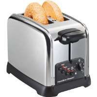 Hamilton Beach  Classic Chrome 2-Slice Extra-Wide Slot Toaster