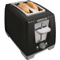 ProctorSilex  Black 2-Slice Cool Touch Bagel Toaster