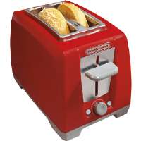 ProctorSilex  Red 2-Slice Cool Touch Bagel Toaster