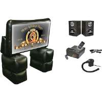 "Sima  72"" MGM� Inflatable Indoor/Outdoor Home Theater Kit"