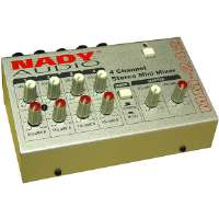 Nady  4-Channel Stereo Mini Mixer