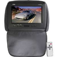 "Pyle  Black 9"" Adjustable LCD Headrest with IR Transmitter"