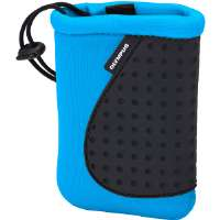 Olympus  Neoprene Silicon Soft Pouch-Blue