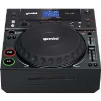 Gemini DJ  Professional Tabletop CD/MP3 Player