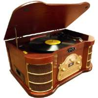 Pylepro Classical Turntable With Am/fm R
