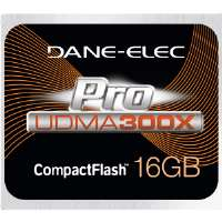 Dane-Elec Proline 16GB CompactFlash Card - 300x (DA-CF30-16G-C)