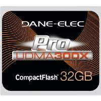 Dane-Elec Proline 32GB CompactFlash Card - 300x (DA-CF30-32G-C)