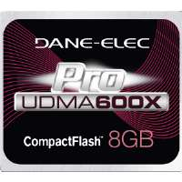 Dane-Elec Proline 8GB CompactFlash Card - 600X (DA-CF6008G-C)