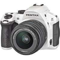Pentax  K-30 Camera Kit with DA L 18x55mm Lens-White