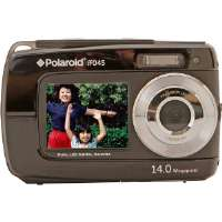 Polaroid  14.1MP Dual Screen Waterproof Camera-Black